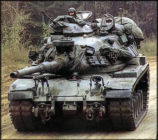 美国m60系列主战坦克