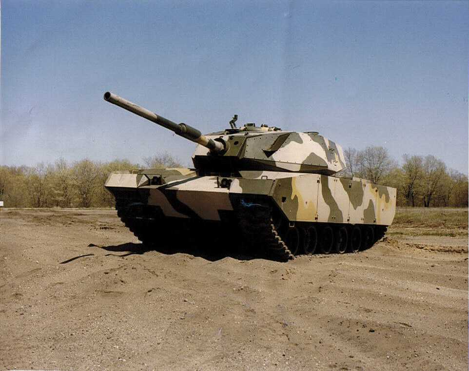 M60 2000 http://www.patton-mania.com/M60_Patton/M60_the_real_thing/m60_the_real_thing.html